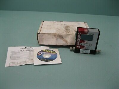 "1/4"" Aalborg DFM26 Mass Flow Controller 0-500 mL/min Gas: N2 NEW G17 (2462)"