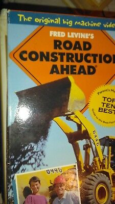 Fred Levine's Road Construction Ahead c1991 vhs