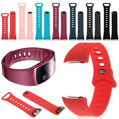 For Samsung Gear Fit 2 SM-R360 Silicone Replacement Wrist Band Strap Bracelet AK