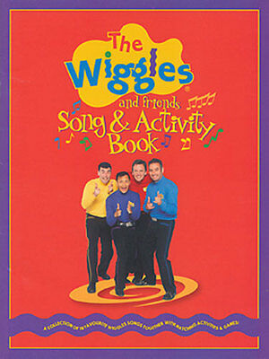 Wiggles & Friends Song & Activity Book! 50% Off Songbook ! Brand New!
