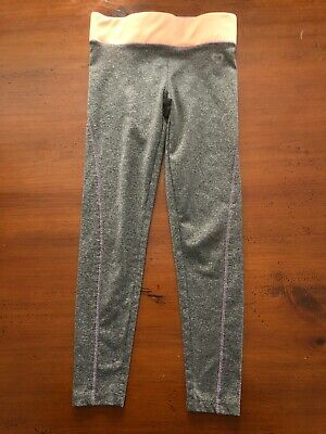 Young Dimension Girls YD Active Gray Leggings Size 5/6T