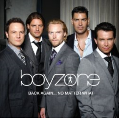 Boyzone-Back Again... No Matter What CD NEW