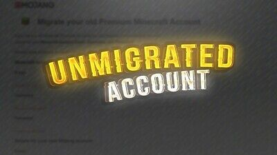Minecraft Unmigrated (Windows, Mac OS, Linux) FULL ACCESS ACCOUNT READ DISC!!!