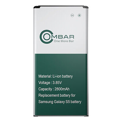 2800mAh OEM Replacement Battery For Samsung Galaxy S5 EB-BG900BBC I9600 G900 NEW