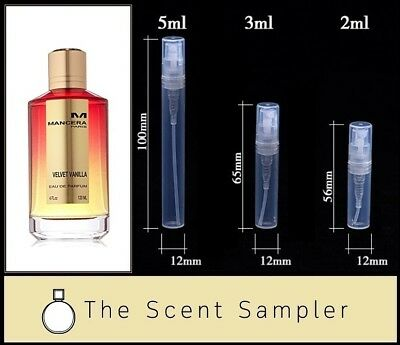 Velvet Vanilla by Mancera - Choose your sample size (2ml, 3ml or 5ml)