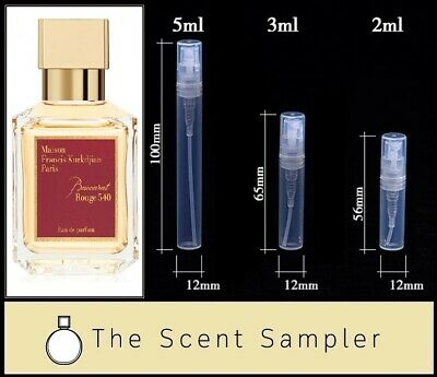 Baccarat Rouge 540 by MFK - Choose your sample size (2ml, 3ml or 5ml)