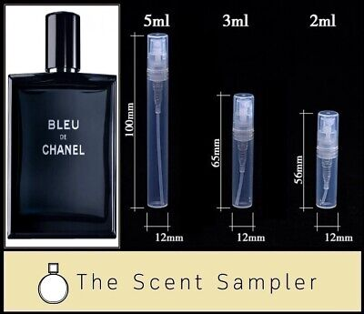 Bleu de Chanel EDT by Chanel - Choose your sample size (2ml, 3ml or 5ml)