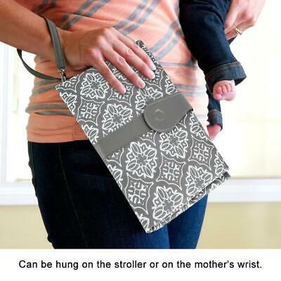 2019 Baby Portable Folding Diaper Travel Changing Pad Washable Mat Bag Storage