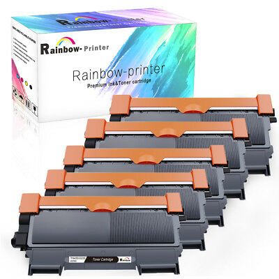5PK TN450 Toner Cartridge for Brother HL-2220 2230 2240 2280DW MFC-7360N 7460DN