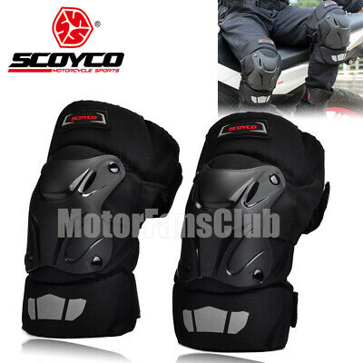 SCOYCO Motorcycle Racing Riding Knee Guards Protective Pads Armor Off-Road Gear