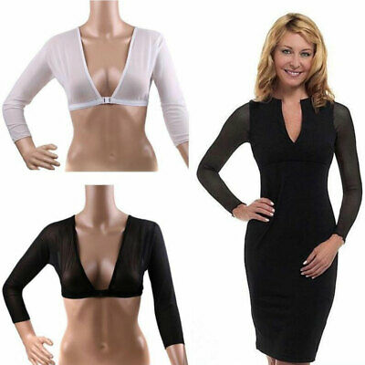 Plus Size Seamless Arm Shaper Sleevey Wonders Women's Wrap