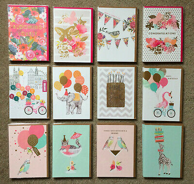44 x LOUISE TILER FEMALE BIRTHDAY GREETINGS CARDS JOB LOT ASSORTED BUNDLE JOBLOT