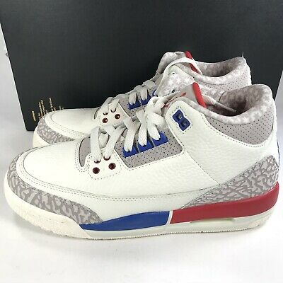 the latest a2889 9bfed NIKE AIR JORDAN 3 Retro International Flight USA OG Size 6 Youth GS  398614-140