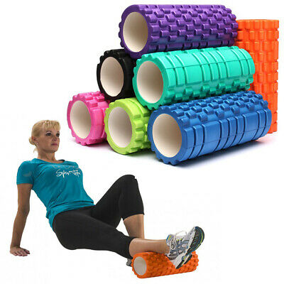 Foam Muscle Roller for Fitness CrossFit Yoga & Pilates Deep Tissue Muscles