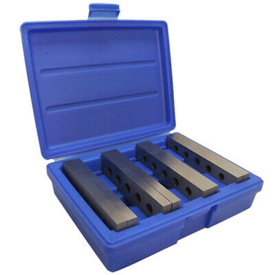 4 Pair (8 Pcs) 3/16-1/2 x 6 Inch Parallel Set Precision Block Gage Gauge Tool