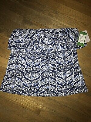 09d4c8f0ae NWT LILLY PULITZER Wiley Tube Top Large A Mermaids Tail Blouse ...