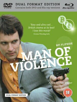 Man of Violence (BFI Flipside) (DVD + Blu-ray) -  CD 5YVG The Fast Free Shipping