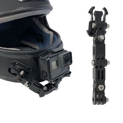 Motorcycle Full Face Helmet Chin Mount for GoPro  Hero SJCAM & Action Camera