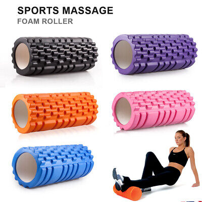 Exercise Cross Fit Perfect Self Massage tool Home Gym Pilates Yoga Fitness Rolle