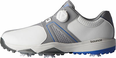 c3c122858 adidas Men s 360 TRAXION BOA Golf Shoes F33771 Size 10 Wide Off White Blue