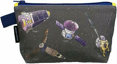 Flight Zipper Bag - Cosmetic Makeup Case Pouch - Cosmos Sky Mission