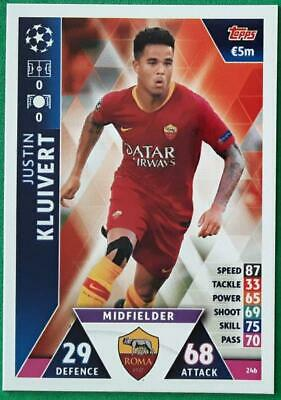 Topps Match Attax Champions League 2018-2019 Card No. 246 Justin Kluivert