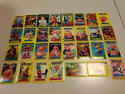 Lotto Set 91 Figurine Cards Sgorbions Topps 1986 Garbage Gang Tutte Diverse