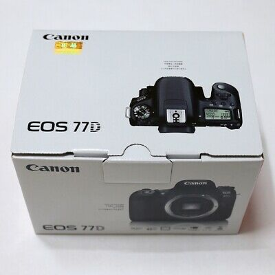 (Body Only) Canon EOS 77D  24.2 MP Digital SLR Camera Genuine _