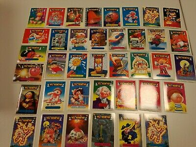 Lotto Set 96 Figurine Cards Sgorbions Topps 1985 Garbage Gang Tutte Diverse