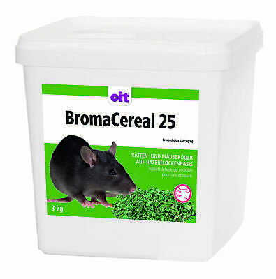BromaCereal 25, 3kg Bromadiolon