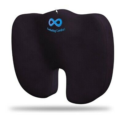 Everlasting Comfort Seat Cushion - Relieve Back, Sciatica, Coccyx, Tailbone Pain