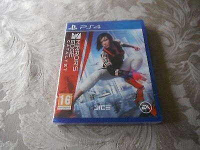 ps4 mirrors edge catalyst new sealed in plastic