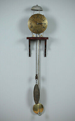 Antique French Provincial Comtoise Bracket Clock c.1800.