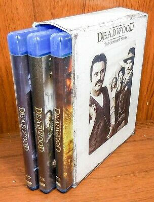 Deadwood: The Complete Series (Blu Ray, 13-Disc Set) Seasons 1 - 3