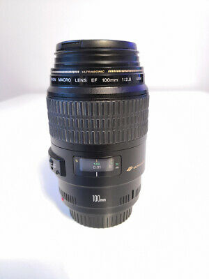 Objectif / Lens Canon MACRO 100mm f/2.8 USM