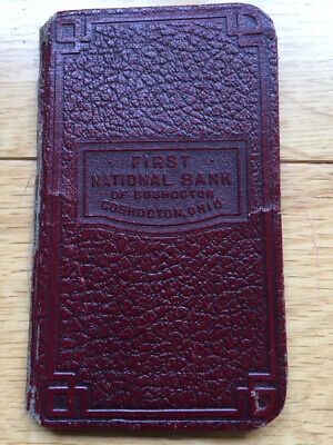 Coshocton Bank Savings Book St. Paul Church