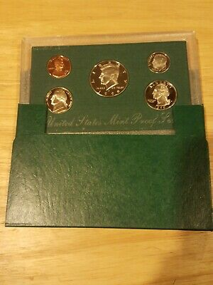 1998 S US Mint Proof 5 Coin Set in Original Mint packaging