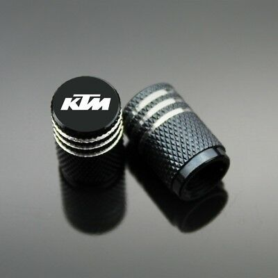 KTM Wheel Valves Tire Valve Caps Orange Black Red Grey Blue Or Green Sports Pair