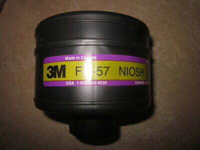 Free Ship New 3M Cbrn Fr-57 Niosh Gas Mask Filter Cartridge Nato 2019 Exp