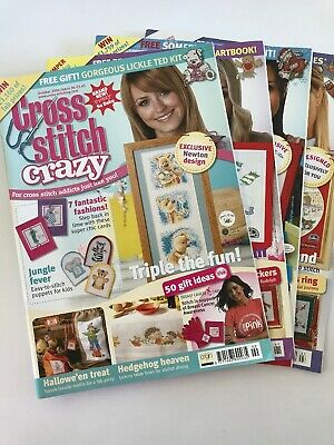 Lot of 4/Cross Stitch Crazy Magazines/Issue# 90,91,92,93/Year 2006