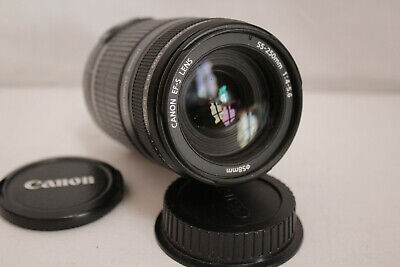 Canon EF-S 1:4-5,6 IS 55-250 mm, sehr guter Zustand