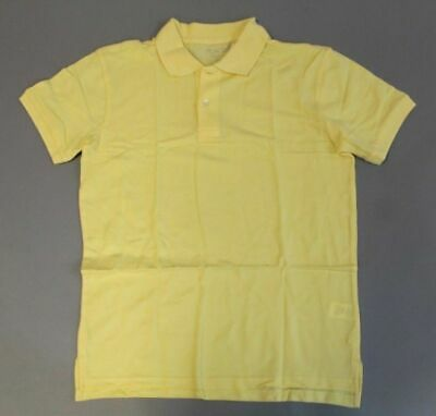 Children's Place Boy's Short Sleeved Uniform Polo SI4 New Yellow Size 2XL (16)