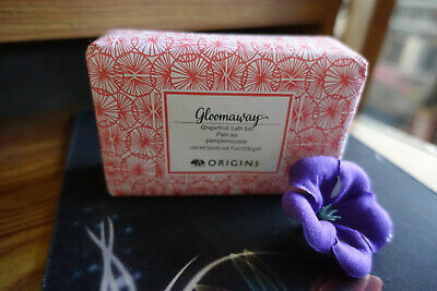 Origins gloomaway grapefruit bath bar full size 7.oz new in package
