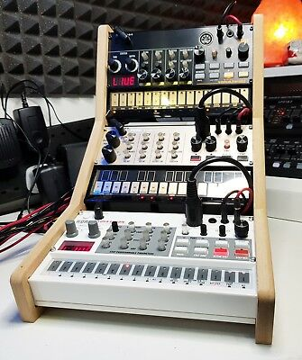 Precision Range Triple Korg Volca Stand Recessed For Live Performance
