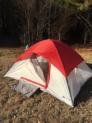 6 PERSON DOME Camping Pop Up Instant Tent Mud Mat Family