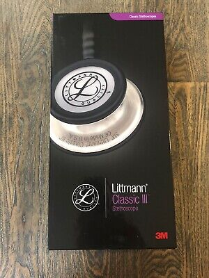3M Littmann Unisex Classic III Stethoscope Chocolate Finish. 5809