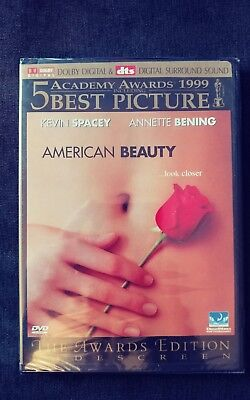 American Beauty (DVD, 1999, Widescreen) - NEW Sealed