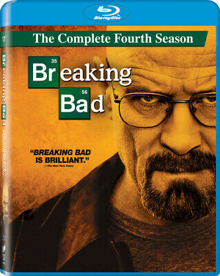 Breaking Bad: The Complete Fourth Season [3 Discs] (REGION A Blu-ray New)