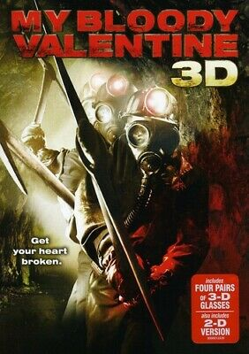 My Bloody Valentine 3D [With 2D Version] [3D G (REGION A Blu-ray New) BLU-RAY/WS