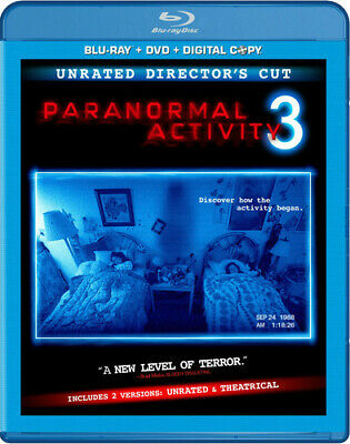 Paranormal Activity 3 [Rated/Unrated] [2 Discs] [Includes (REGION A Blu-ray New)